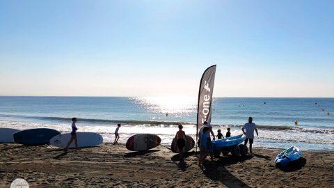 Escuela de surf para niños en Torremolinos, Málaga
